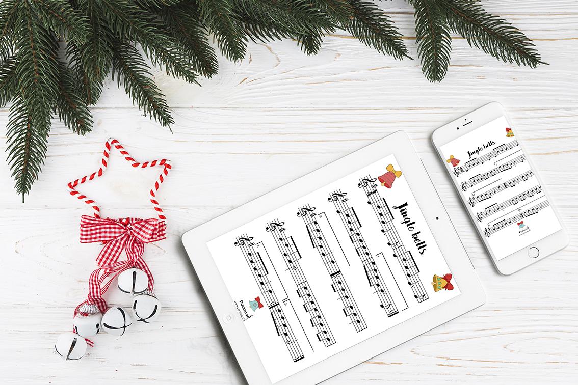 Jingle bells free printable sheet music pizzicato.hr