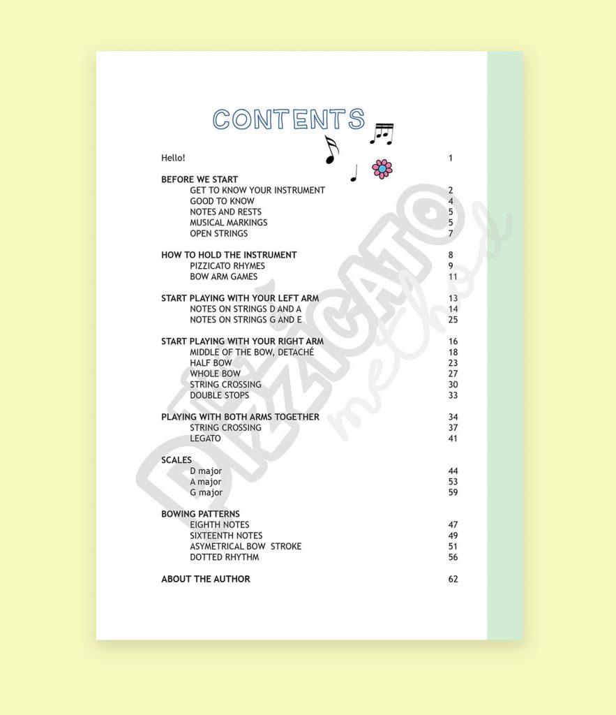 The Pizzicato Method Book 1