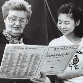 Slijed violinskih koncerata Dorothy DeLay | Dorothy DeLay's Violin Concerto Sequence