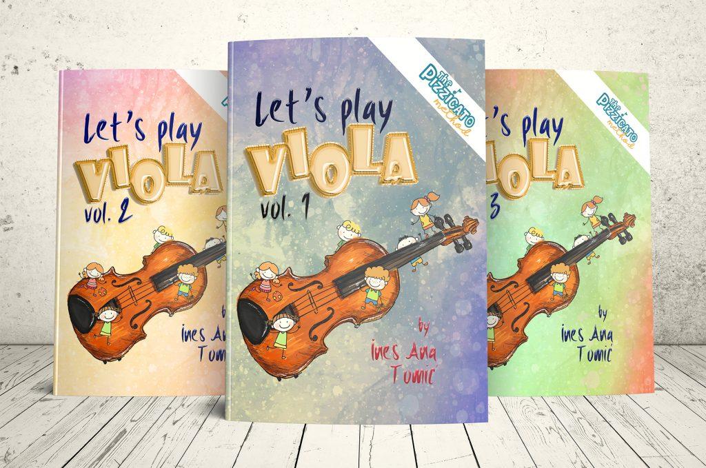Let's Play Viola pizzicato.hr